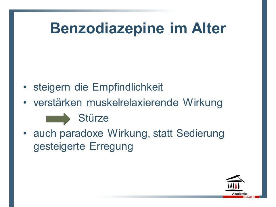 Benzodiazepine im Alter