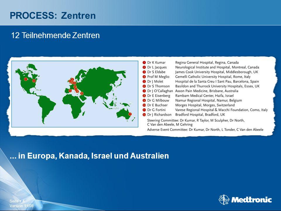 PROCESS: Zentren 12 Teilnehmende Zentren