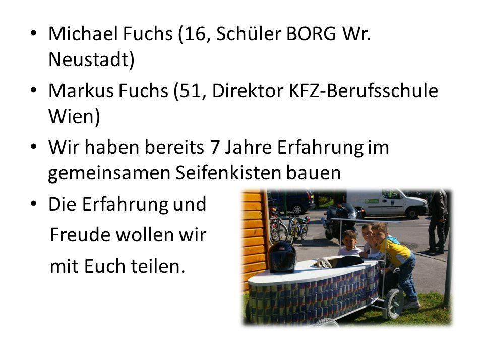 Michael Fuchs (16, Schüler BORG Wr. Neustadt)