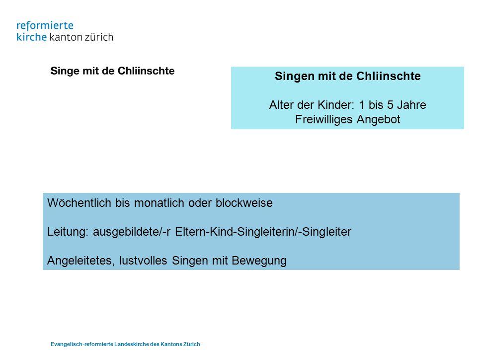 Singen mit de Chliinschte