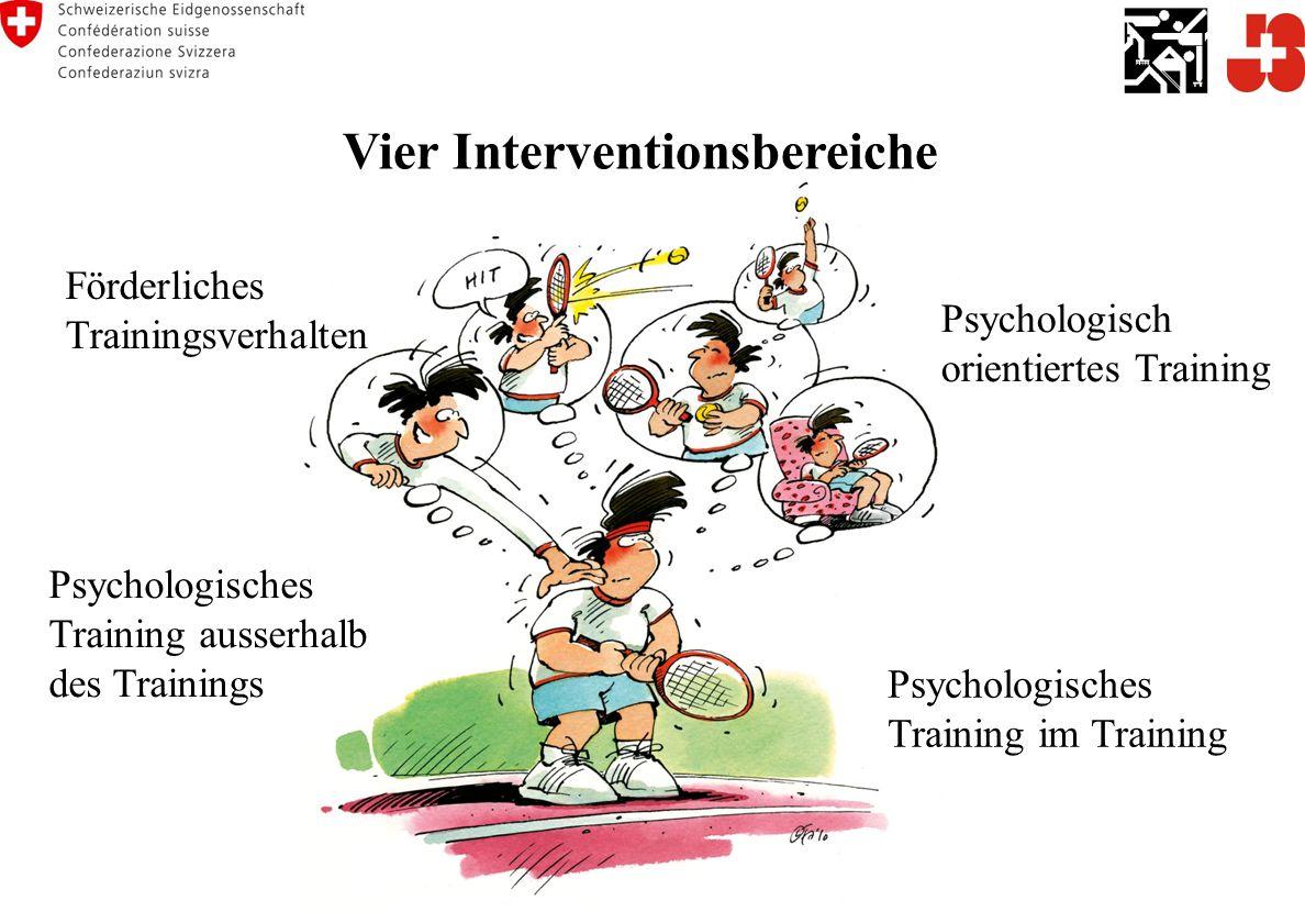 Vier Interventionsbereiche
