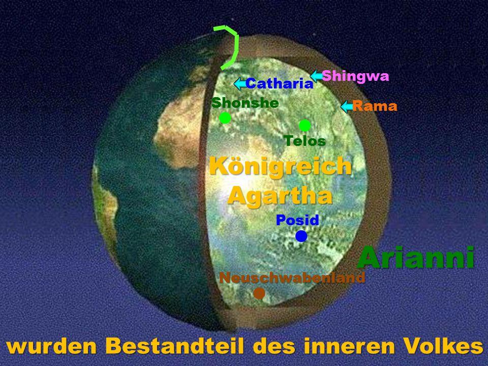 Arianni Königreich Agartha wurden Bestandteil des inneren Volkes l l l