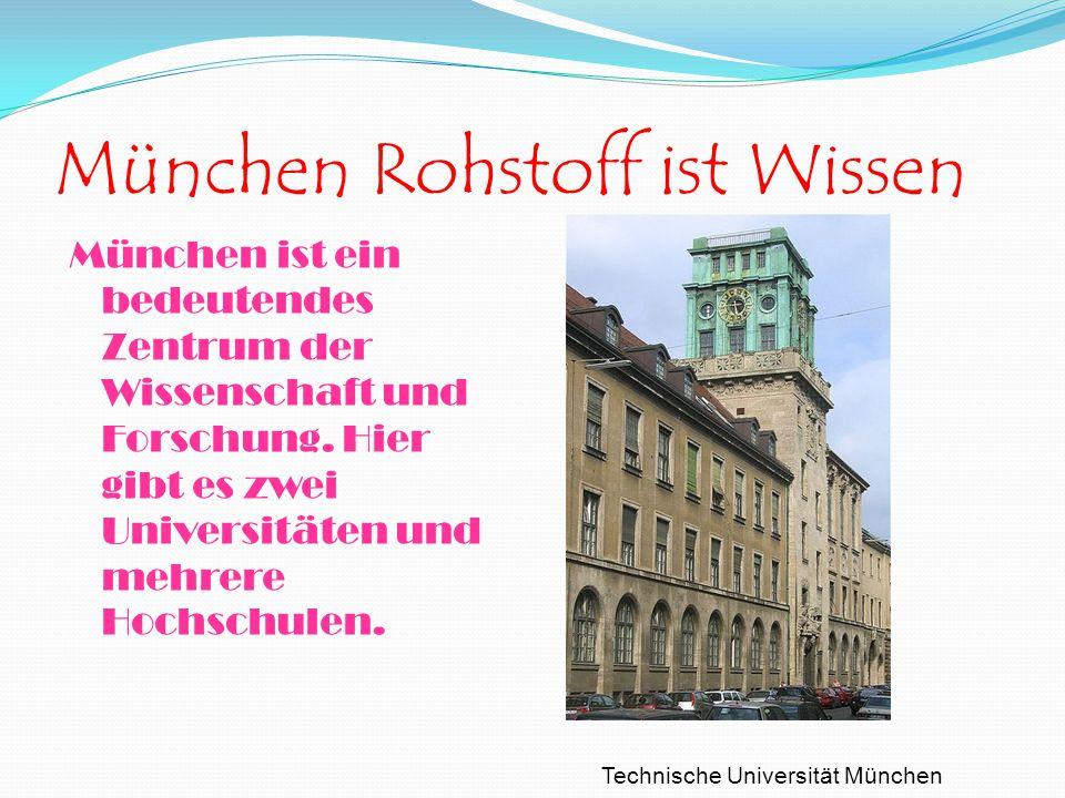 München Rohstoff ist Wissen