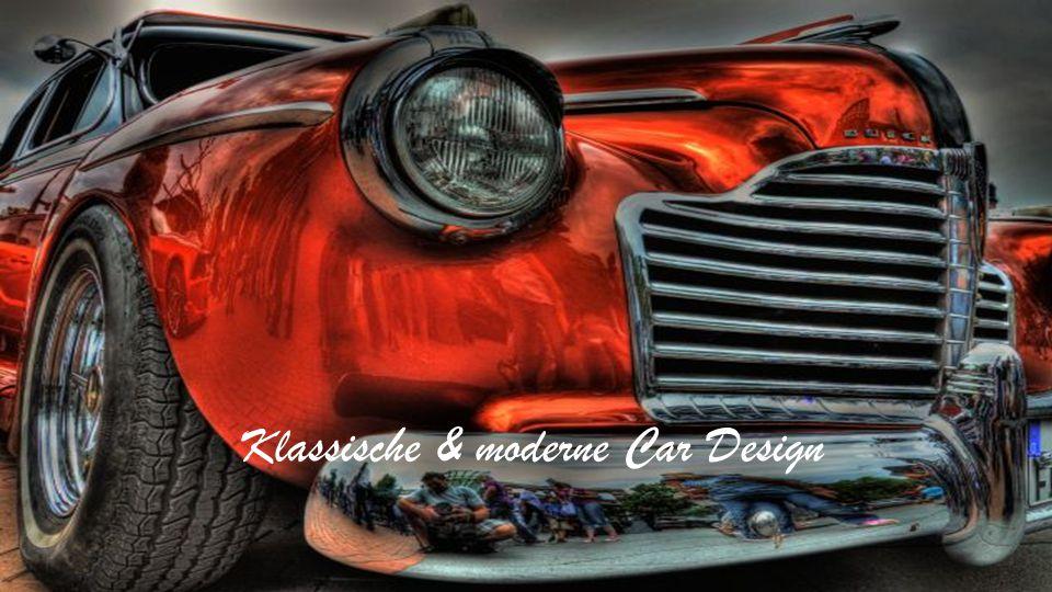 Klassische & moderne Car Design