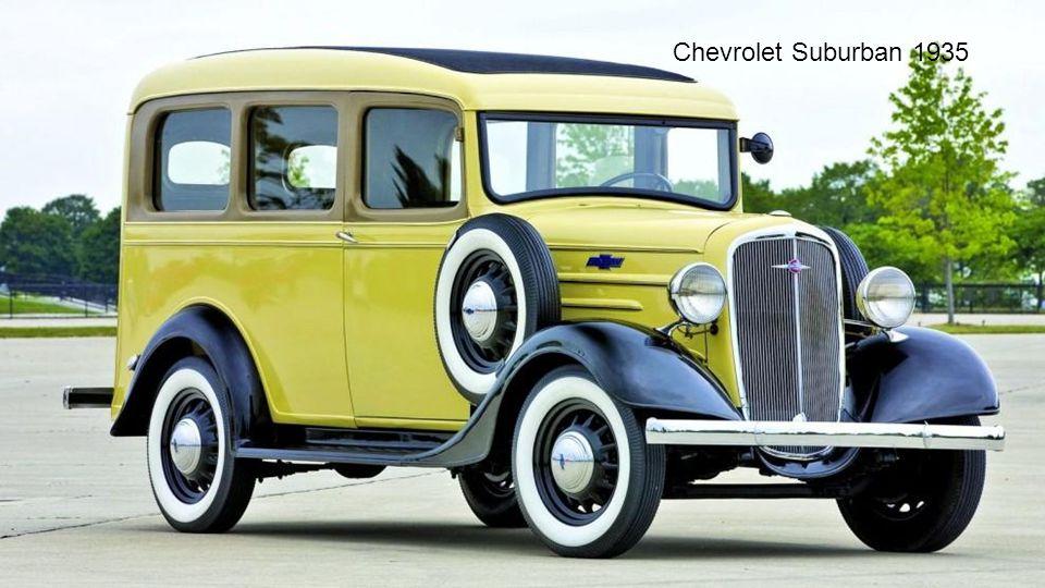 Chevrolet Suburban 1935