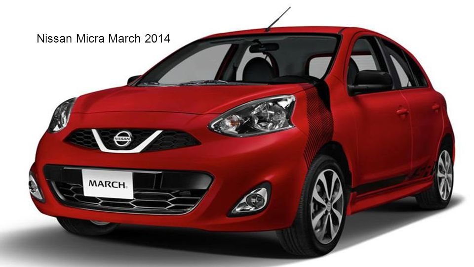Nissan Micra March 2014