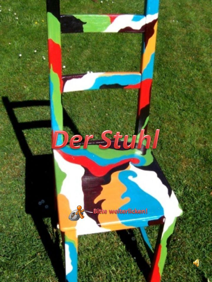 Der Stuhl Bitte weiterlicken!