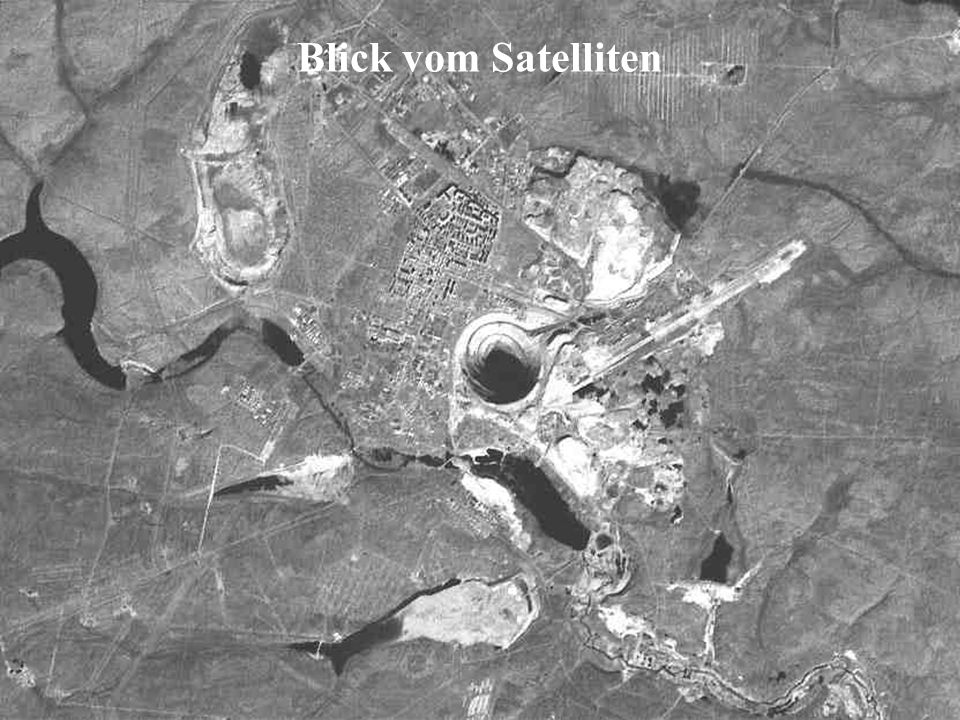 Blick vom Satelliten