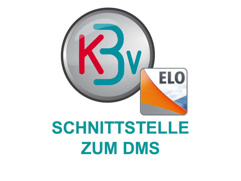 SCHNITTSTELLE ZUM DMS