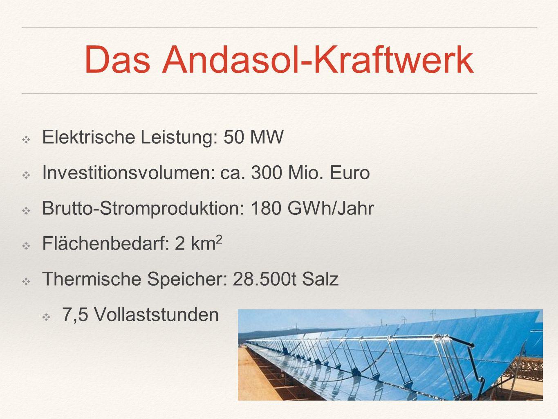 Das Andasol-Kraftwerk