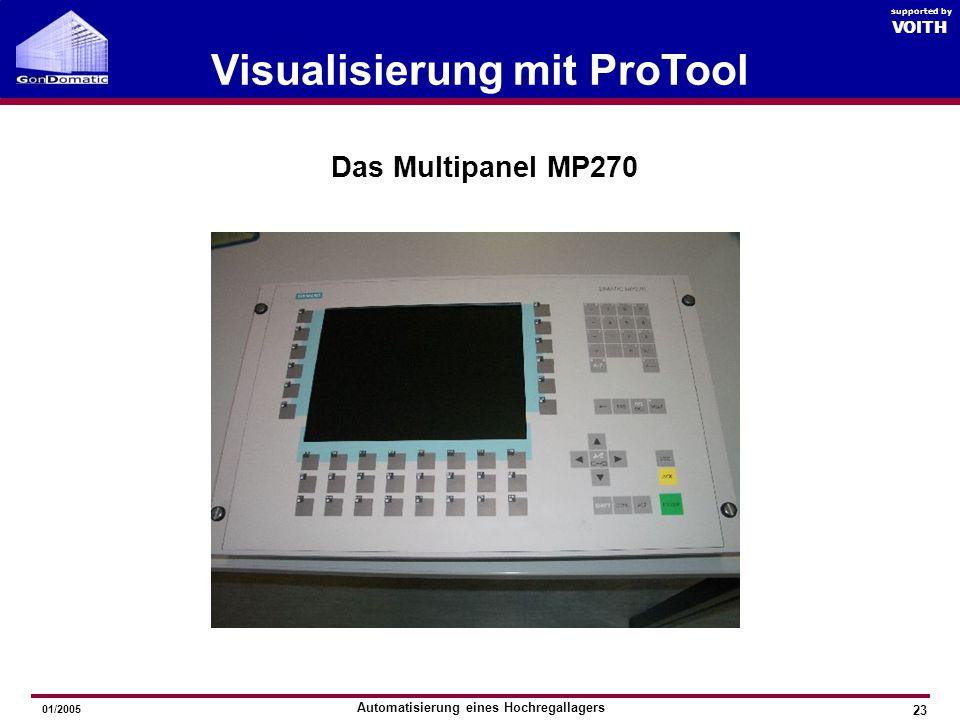 Visualisierung mit ProTool
