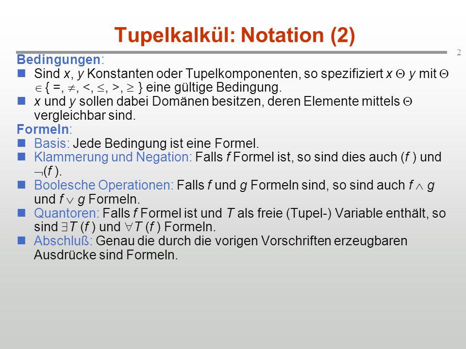Tupelkalkül: Notation (2)