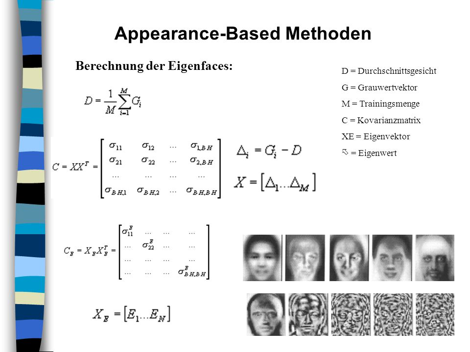 Appearance-Based Methoden