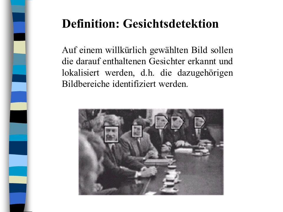 Definition: Gesichtsdetektion
