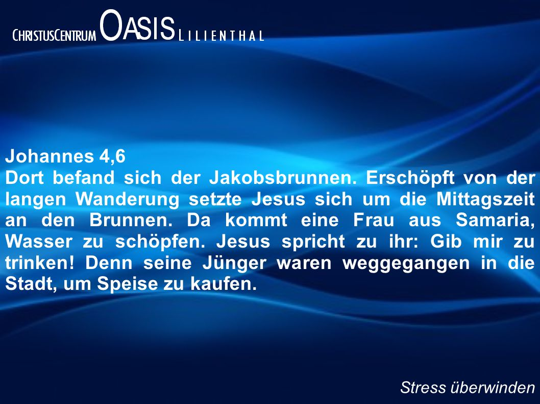 Johannes 4,6