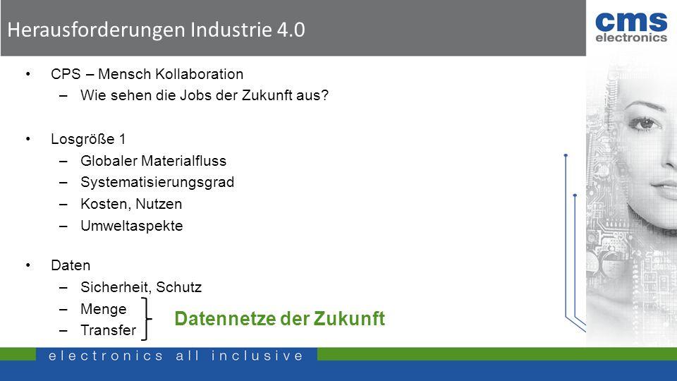 Herausforderungen Industrie 4.0