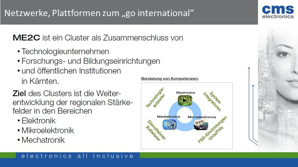 "Netzwerke, Plattformen zum ""go international"