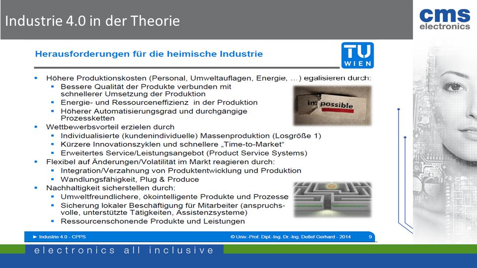 Industrie 4.0 in der Theorie