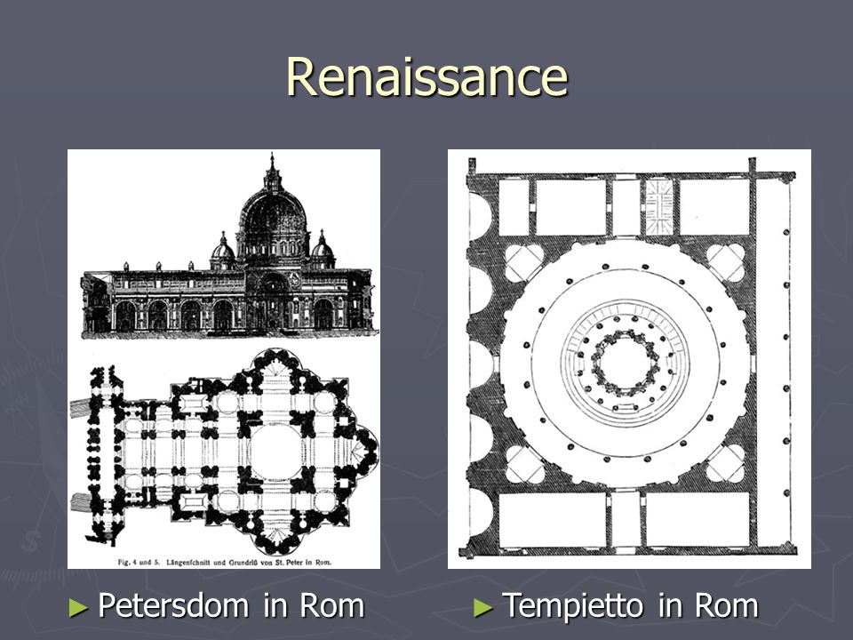 Renaissance Petersdom in Rom Tempietto in Rom