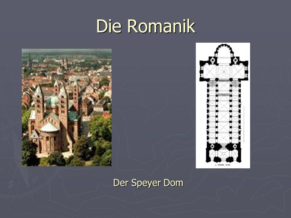 Die Romanik Der Speyer Dom