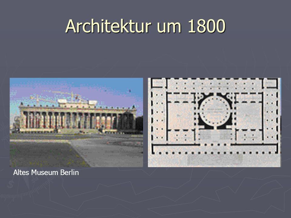 Architektur um 1800 Altes Museum Berlin