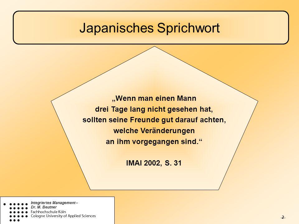 Japanisches Sprichwort