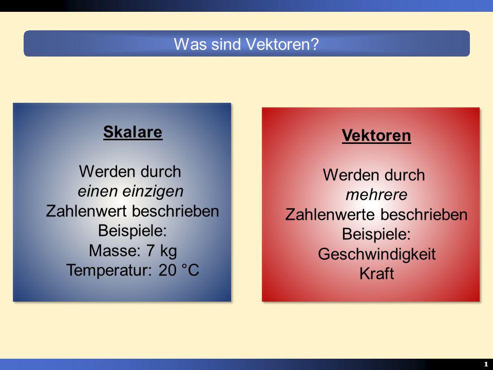 Zahlenwert beschrieben Beispiele: Masse: 7 kg Temperatur: 20 °C