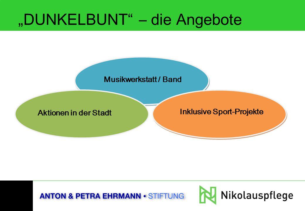 """""""DUNKELBUNT – die Angebote"""