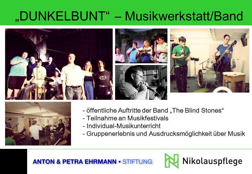 """DUNKELBUNT – Musikwerkstatt/Band"