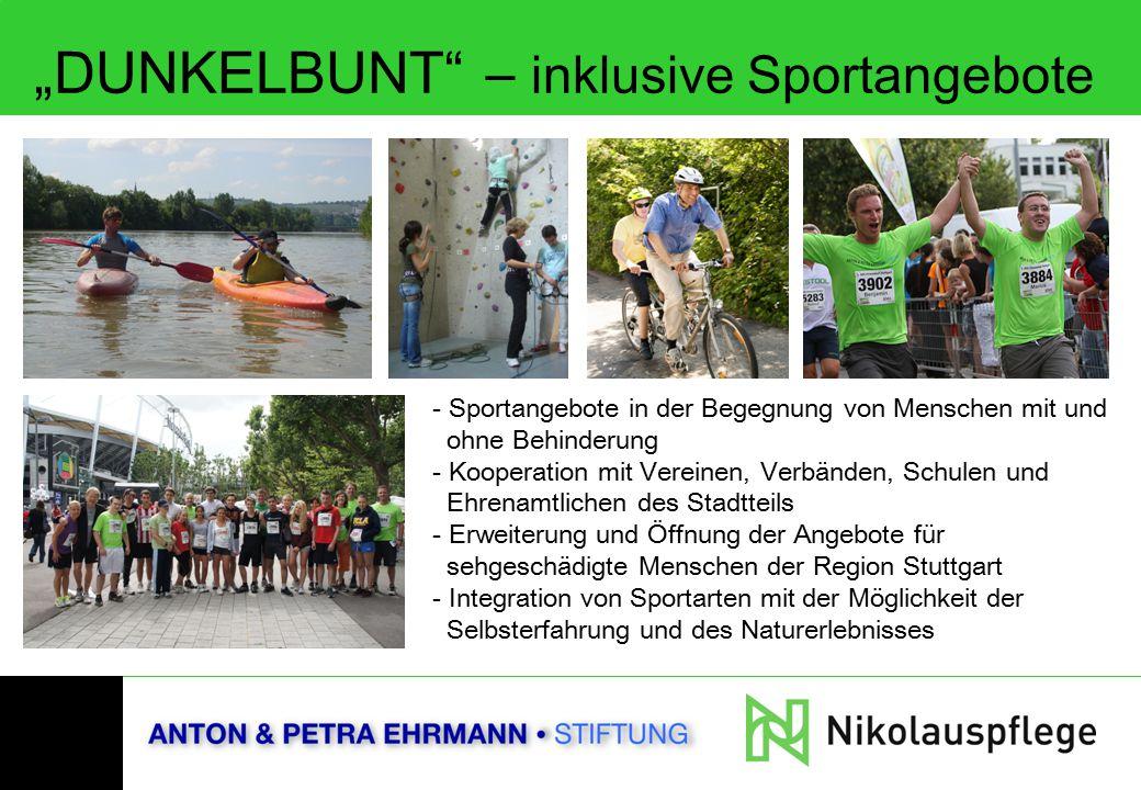 """DUNKELBUNT – inklusive Sportangebote"