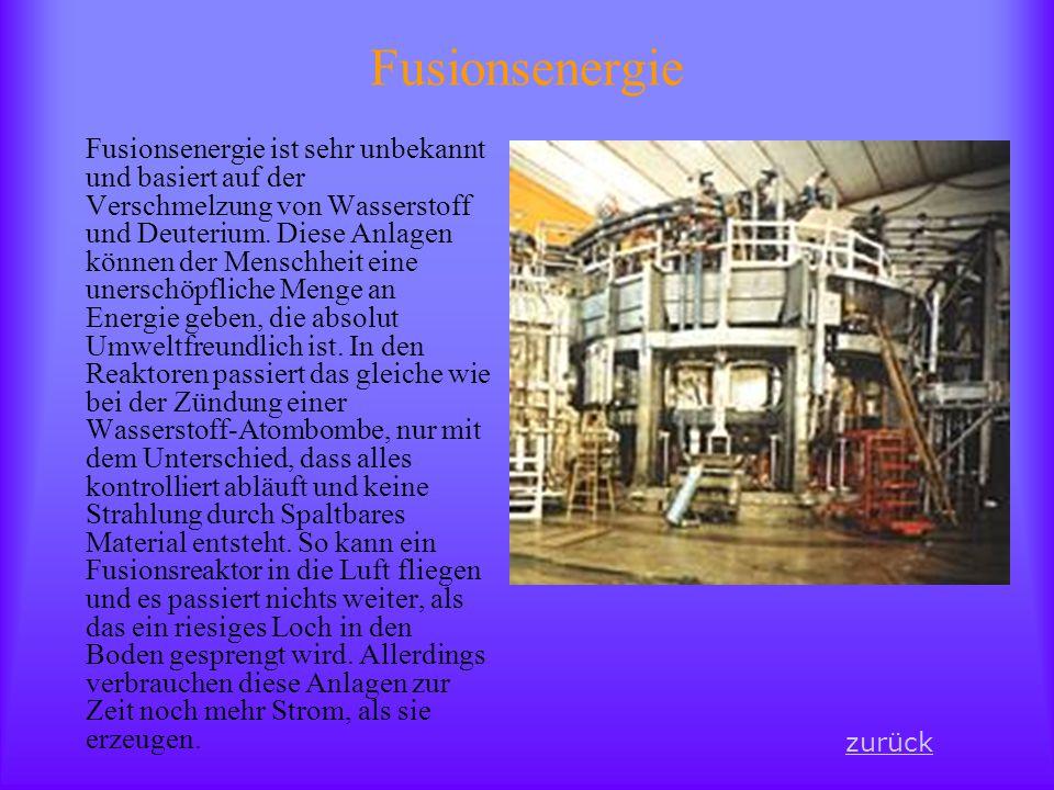 Fusionsenergie