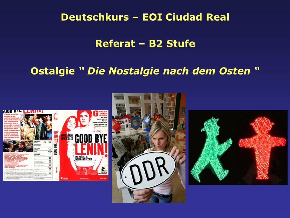 Deutschkurs – EOI Ciudad Real