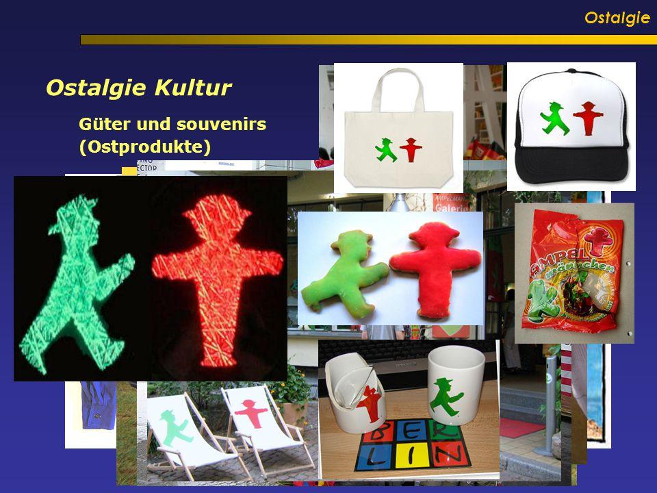 Ostalgie Ostalgie Kultur Güter und souvenirs (Ostprodukte)