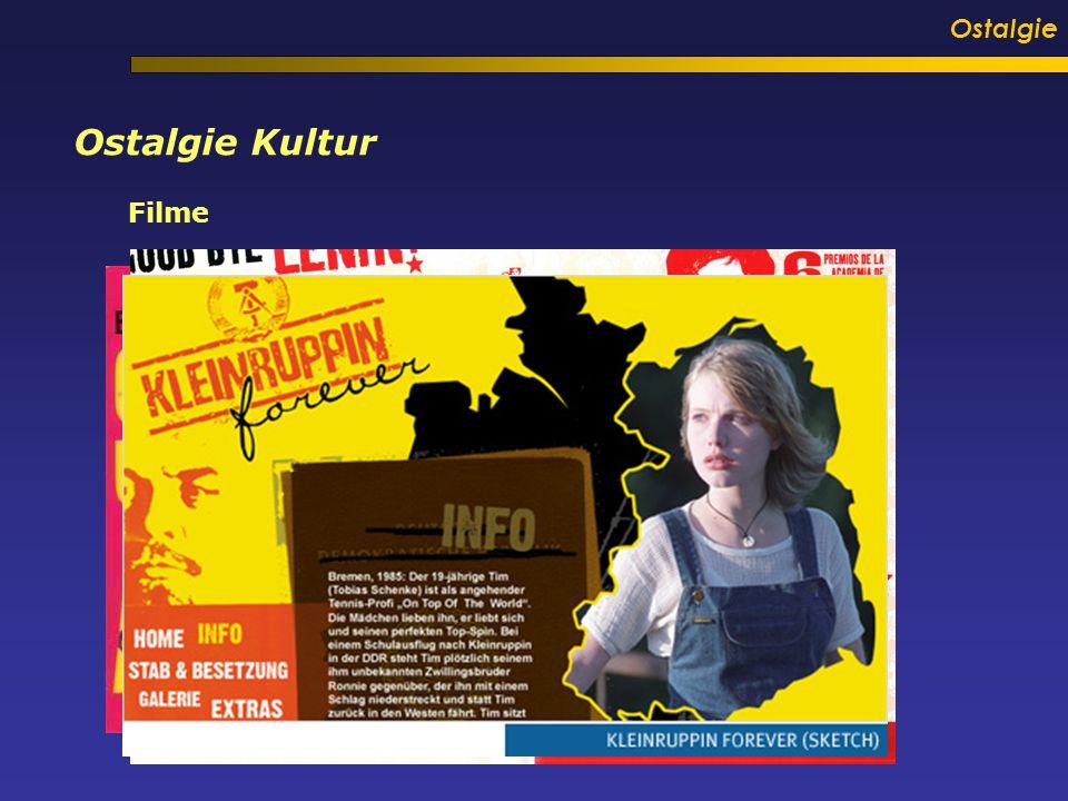 Ostalgie Ostalgie Kultur Filme