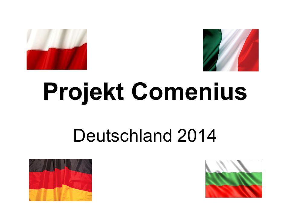 Projekt Comenius Deutschland 2014