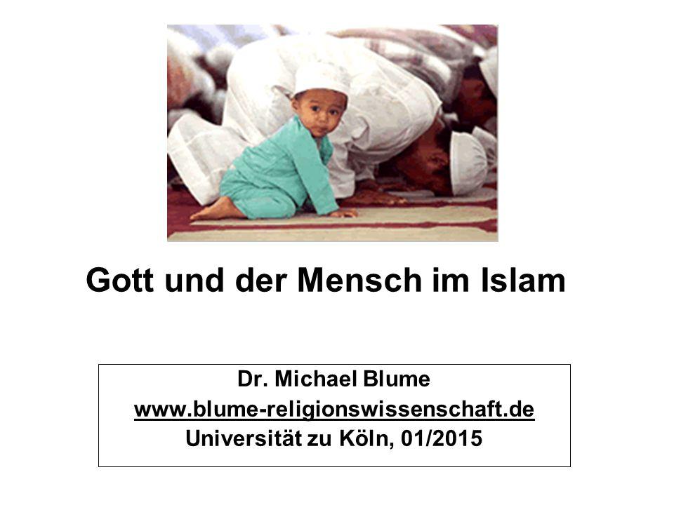 Gott und der Mensch im Islam