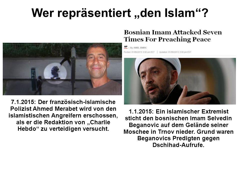 """Wer repräsentiert """"den Islam"""