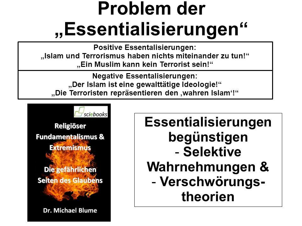 """Problem der """"Essentialisierungen"""