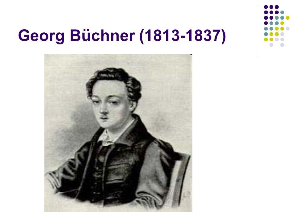 Georg Büchner (1813-1837)