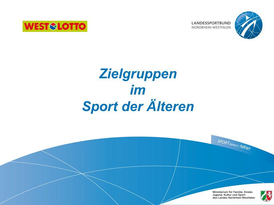 Zielgruppen im Sport der Älteren