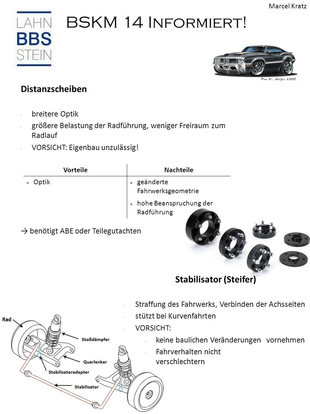 Stabilisator (Steifer)