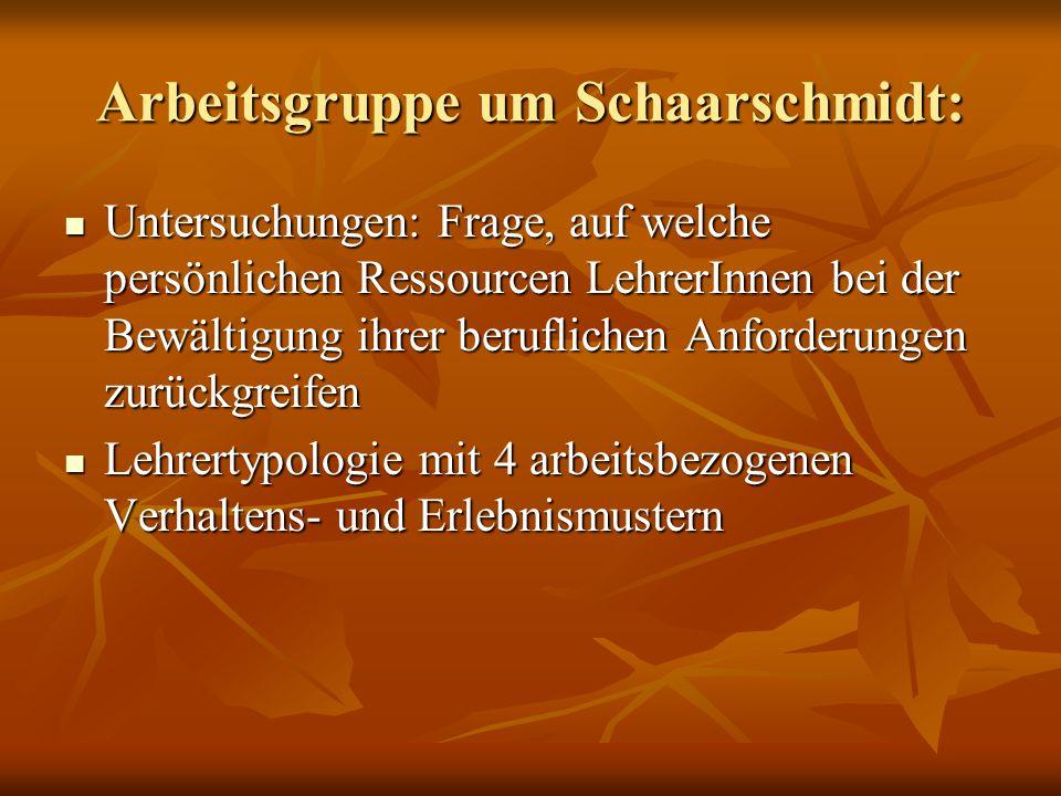 Arbeitsgruppe um Schaarschmidt: