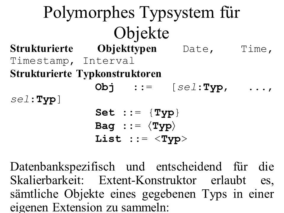 Polymorphes Typsystem für Objekte