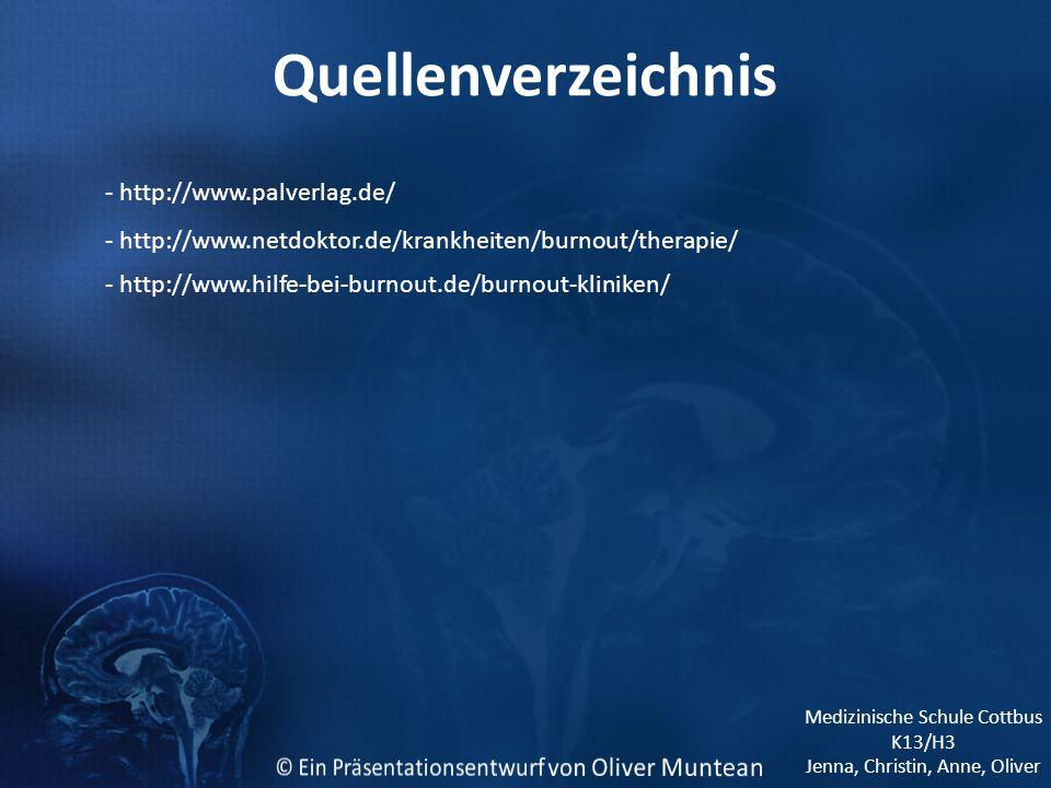 Quellenverzeichnis - http://www.palverlag.de/