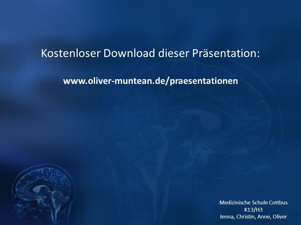 Kostenloser Download dieser Präsentation: www. oliver-muntean