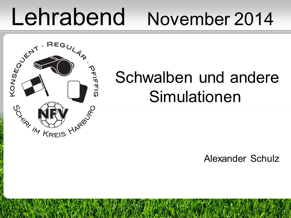 Lehrabend November 2014 Schwalben und andere Simulationen