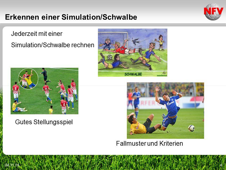 Erkennen einer Simulation/Schwalbe
