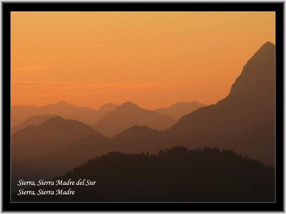 Sierra, Sierra Madre del Sur