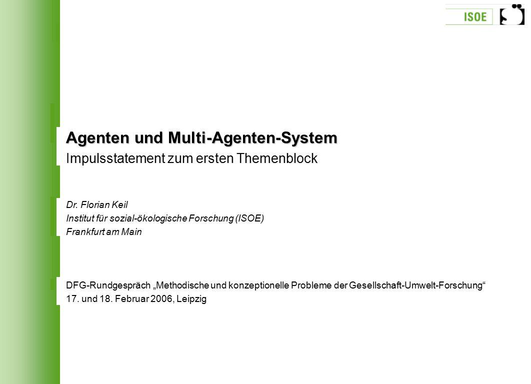 Agenten und Multi-Agenten-System