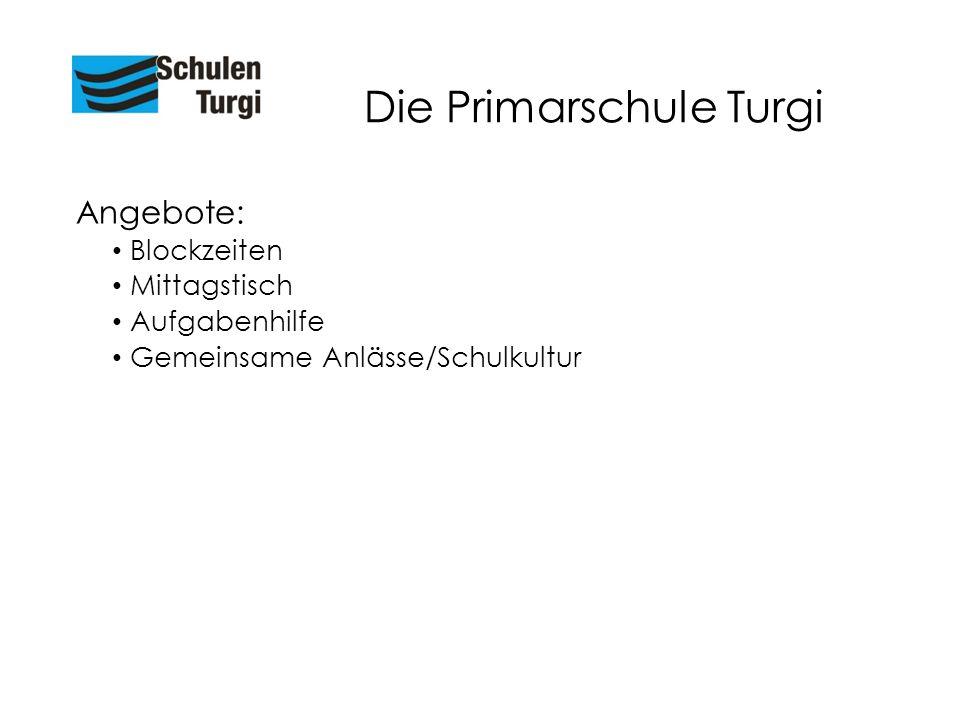 Die Primarschule Turgi